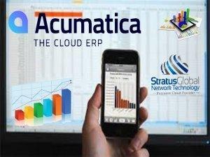 Acumatica BI reporting and Dashboards