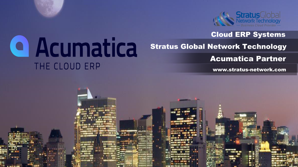 acumatica cloud erp demonstration