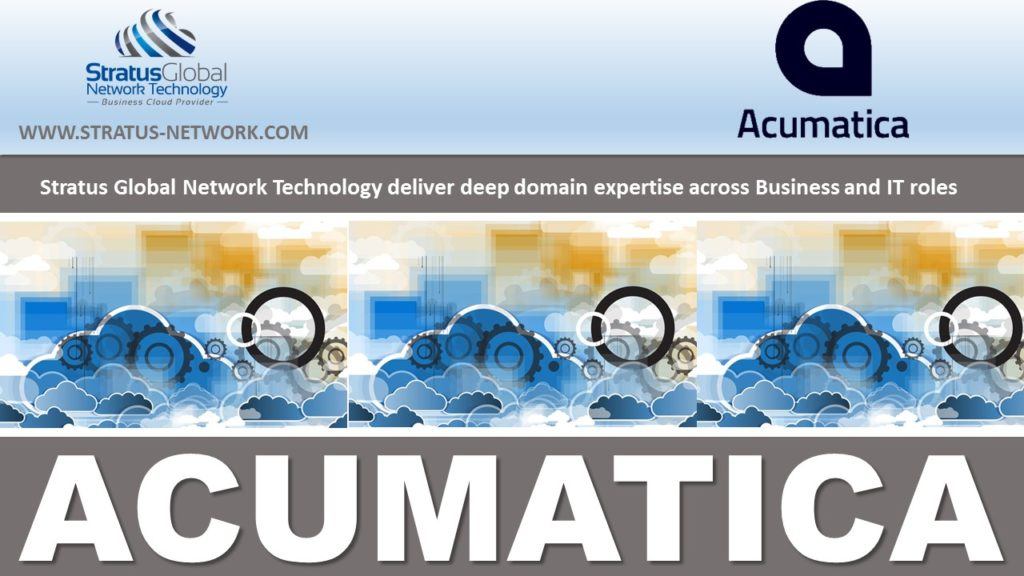 Cloud ERP - Acumatica